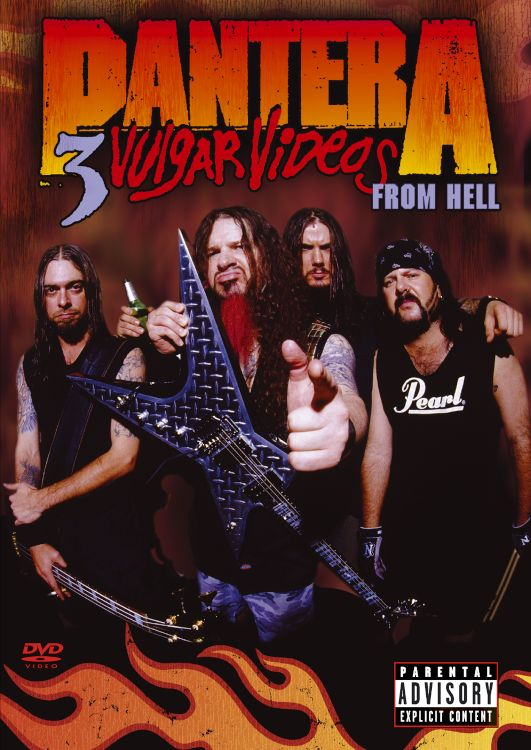 3 VULGAR VIDEOS FROM HELL BY PANTERA (DVD)
